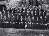 Newmarket and District Male Voice Choir or Côr Niwmarcid, (the Choir's original name) in 1938  » Click to zoom ->
