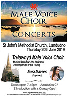 Concert at St John's Methodist Church, Llandudno